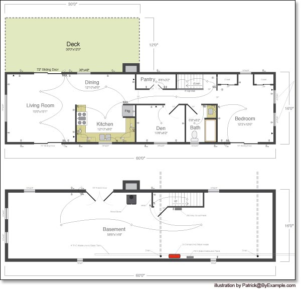 Simple Country One-Story (HWBDO06483) | Country House Plan from