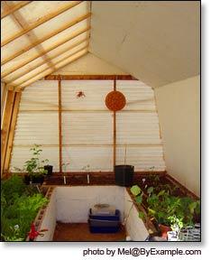 Organic gardening passive solar greenhouse plans Passive solar greenhouse design plans