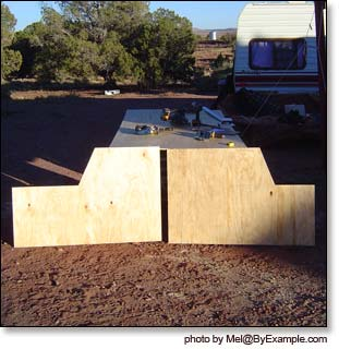 How To Skirt A Travel Trailer