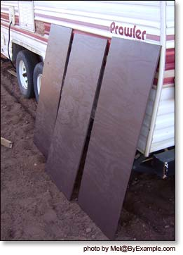 Plywood Trailer Skirt Byexample Com