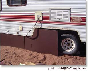 How To Skirt A Trailer 111
